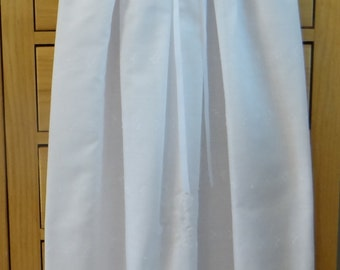 Christening Baptism Ensemble - Gown, Slip, Bonnet Gift for Newborn