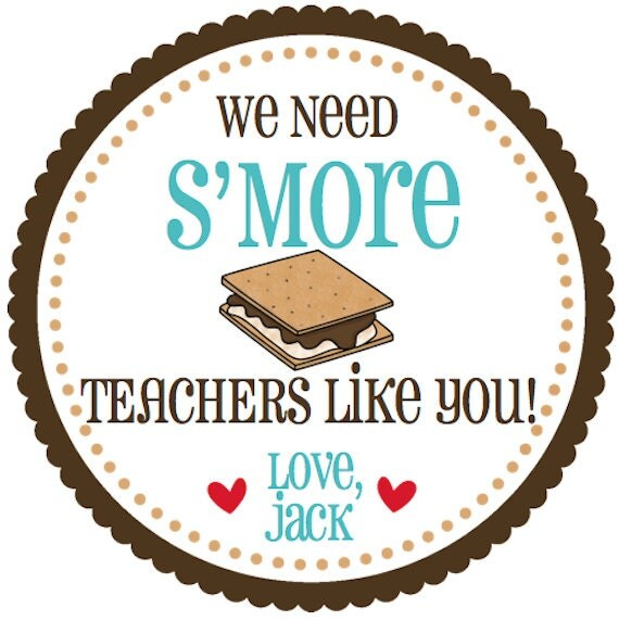 Personalized Teacher or Volunteer Tag We by ...