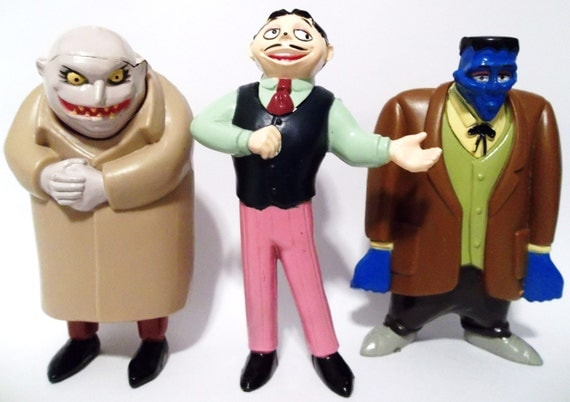 1990 S Toys : Addams family candy dispenser toys vintage s