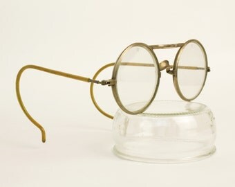 Antique Eyeglasses Wilson Motoring eyewear or Goggles Early 20th C. Sunglasses Eyeglass Frames