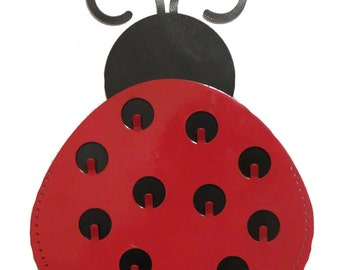 Lady Bug Jewelry Holder and Wall Decor