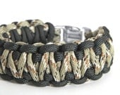 Double Survival// Men's Double Cobra Paracord Bracelet