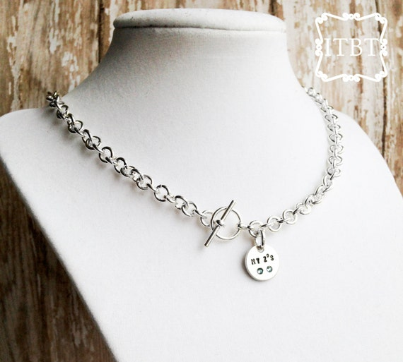 new tiffany co inspired mommy necklace mommy by