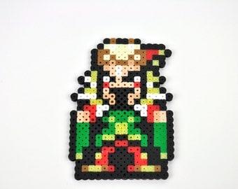 Final Fantasy 3 Kefka imán Perler grano