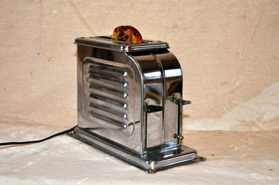 What Was The First Electric Toaster ~ Reserved for peter antique toastmaster automatic electric