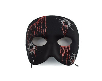 44 Caliber Men's Masquerade Mask   A-1080-E