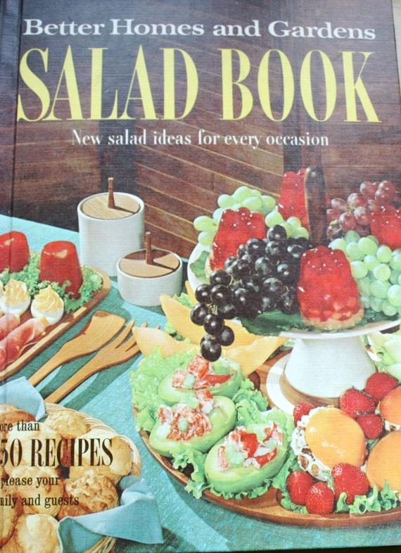 Vintage better homes garden salad book cookbook 1950s 1960s - Vintage better homes and gardens cookbook ...