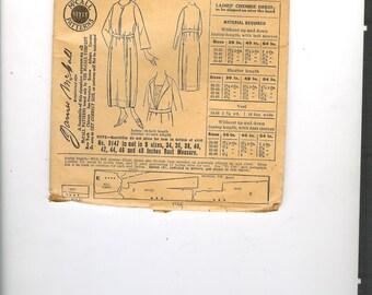 Vintage 20s McCall 9147 Sewing Pattern, Womens Dress Pattern, Misses, B36, Unused,