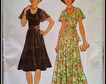"Simplicity  7382  Misses' Dress in two lengths  Bust 36""   UNCUT"