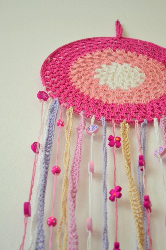 how to use crochet dream catcher