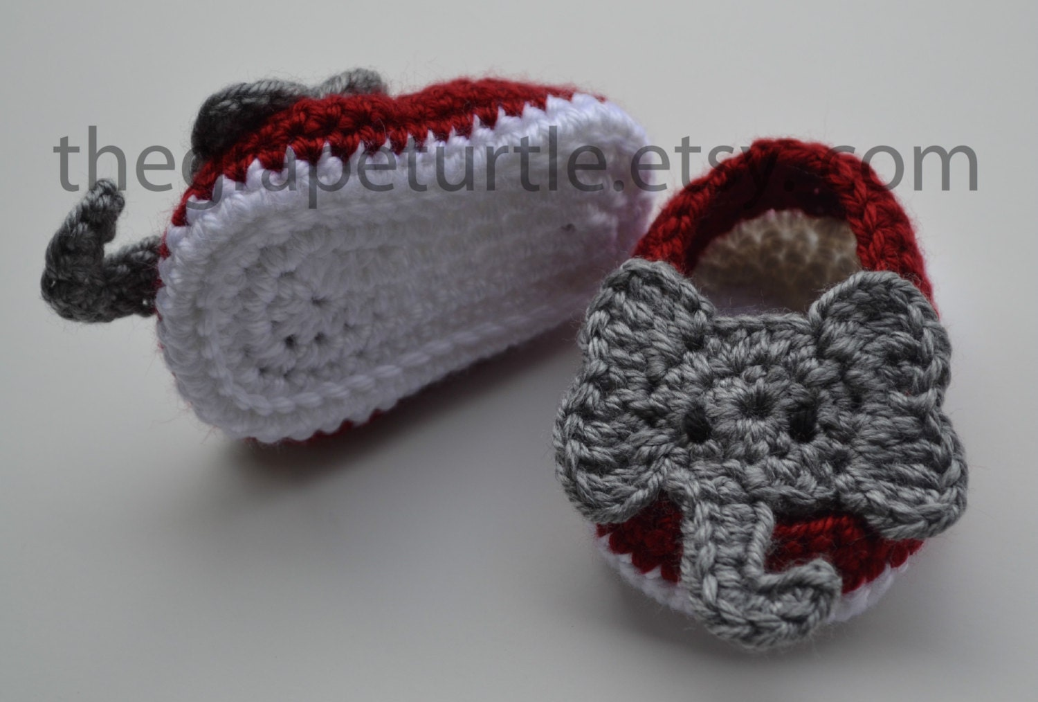 Baby Infant Boy Shoes Crochet Baby Shoes Alabama by
