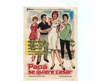 Vintage movie posters - Appuntamento a Ischia