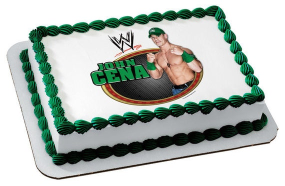 Edible Cake Images Wwe : Unavailable Listing on Etsy
