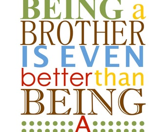 Being a Brother Artwork