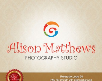 Premade Logo and Watermark, custom business logo - pml-26