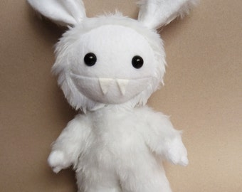 Cute plush monster - stuffed monster toy - plush toy - monster toy - monster plush - bunny softie