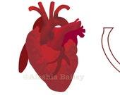 I (actual) Heart U sticker