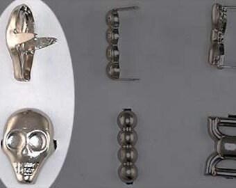 Special Stud Skullhead - bag of 25. StudsAndSpikes Denim and LeatherCraft.
