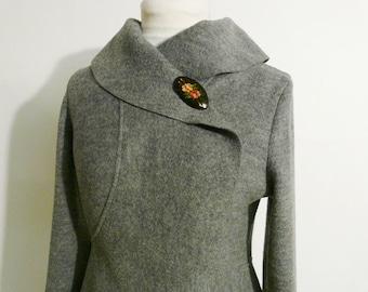 Women boiled wool Jacket size Xs-L