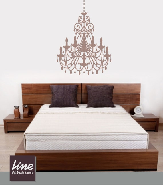 Chandelier wall decals chandelier decal wall decal room like this item mozeypictures Gallery