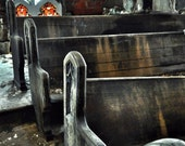 Beautiful Decayed Abandoned Church Pews -In God We Rust Photo Print - InGodWeRust