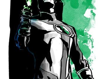 Green Lantern - Print