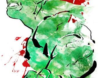 Hulk - Print
