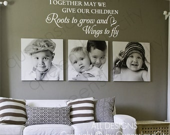 Together May We Give Our Children Wall Quote Kid Nursery Art Decal Vinyl Sticker