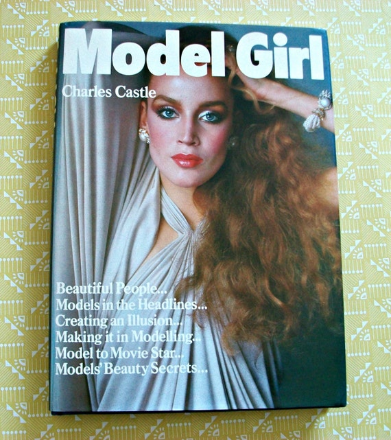 RESERVED FOR RACHEL Model Girl: vintage fashion photography book by Charles Castle