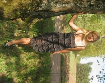 women dress, gray women dress, summer dress, crochet dress women, Handmade Crocheted Dress Gray Summer, women dress, summer dress
