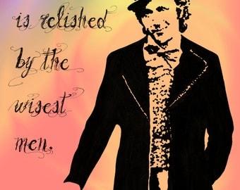 Print: 'Willy Wonka'