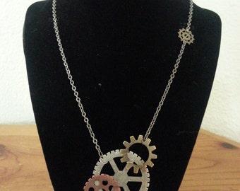 Steampunk Necklace-001