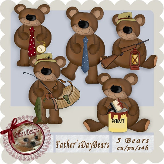 Father's Day Bears