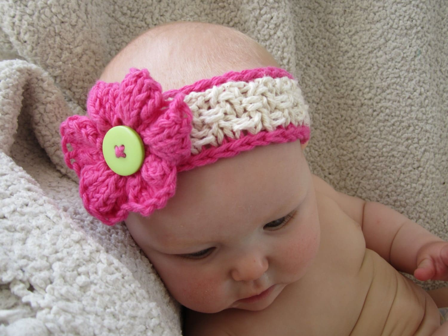 Knitting Headband For Baby : Knitting pattern baby headband