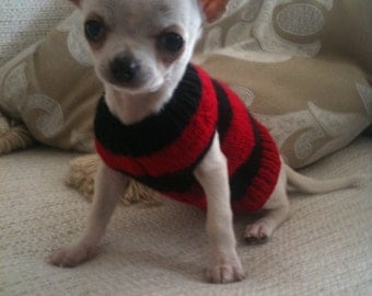 Knitting Pattern For Teacup Dog : Free Dog Sweater Patterns For Teacup Yorkie Dog Breeds ...