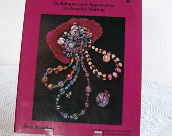 "Jewelry Crafts Book Polymer Clay ""The New Clay"" Nan Roche Paperback 1991"