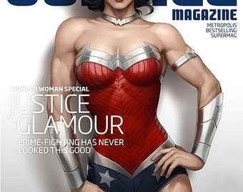 Order NOW to avoid Delay! GORGEOUS Justice League Wonder Woman Costume...