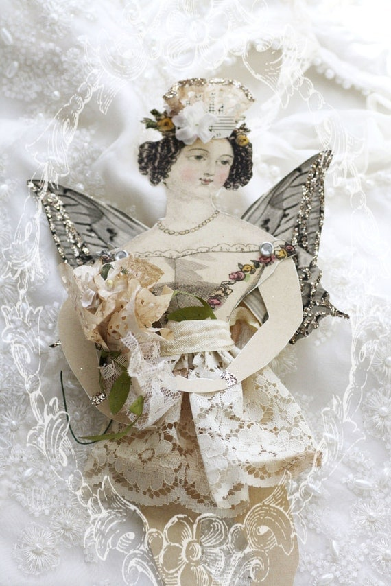 french fairy - a whimsical paper doll muse