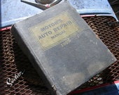 1959 Motor's Auto Repair Manual, fix your old car, man cave gas station, automobile repair garage, service station, US cars from 1952-1959