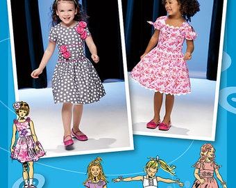 Precious Dresses for Little Girls - Simplicity 1670 - Out of Print Sewing Pattern, Sizes 1/2, 1, 2, 3