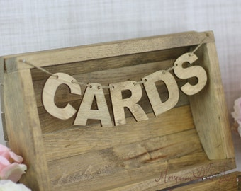 Cards Banner For Wedding Card Box (Item Number 130013)