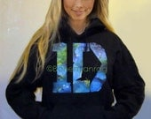 SALE GALAXY 1D HOODIE Out of This World Galaxy Design 1D Hoodie