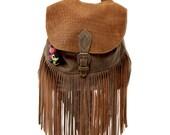 Malku leather Backpack