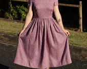 SALE - Lady Lavender tea dress size AU10 - one of a kind