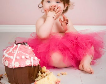 ON SALE Baby Tutu- Infant Tutu- Tutu- Tutu Skirt- Newborn Tutu- Pink Tutu- Girls Tutu- Photo Prop- Birthday Tutu- Available In Size 0-24 Mon
