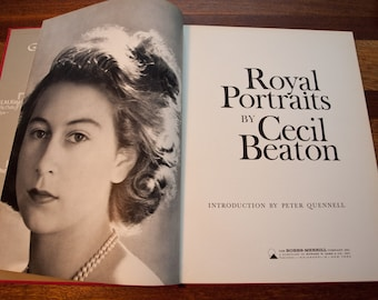 Cecil Beaton 1963, Introduction by Peter Quennell, First Edition Royal Portraits