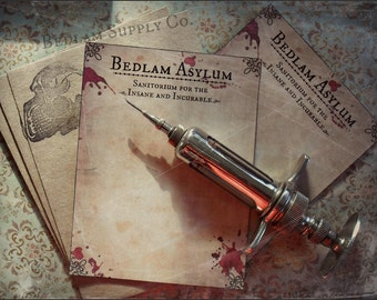 Asylum for the Insane - Note Card Set with Envelopes