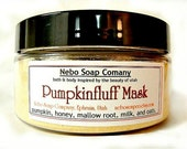 Pumpkin Face Mask, Clay Free, Gentle Face Mask, Pumpkin Mask, Dry Skin Care, Sensitive Skin, Moisture Face Mask, Oatmeal Mask, Mallow Root