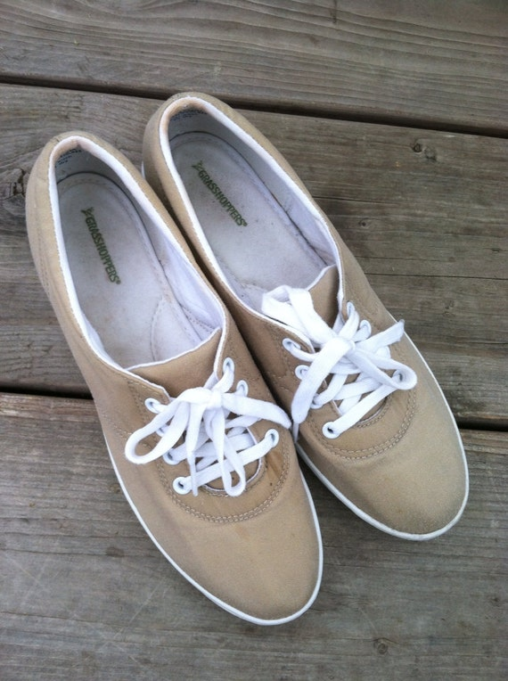 vtg canvas grasshopper shoes size 8