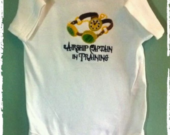 Custom made embroidered ONSIES -  3-6 months